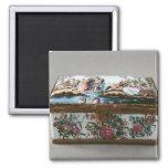Snuffbox, c.1750 2 inch square magnet