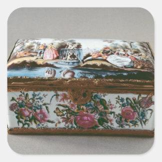Snuffbox, c.1750 square sticker