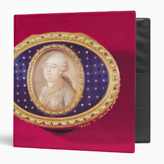 Snuffbox with a portrait miniature of Louis Binder
