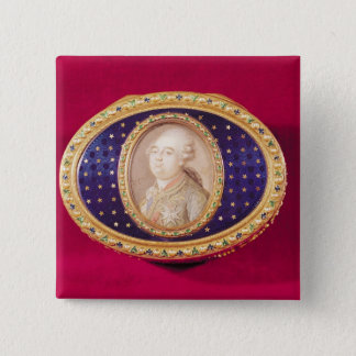 Snuffbox with a portrait miniature of Louis Button