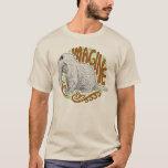 Snuffleupagus B&W Sketch Drawing T-Shirt