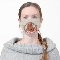 Snuffleupagus | Snuffle-Cise Adult Cloth Face Mask