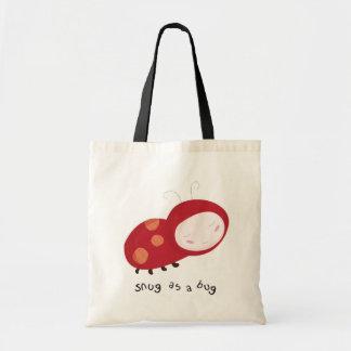 """Snug as a bug"" ladybird Tote Bag"