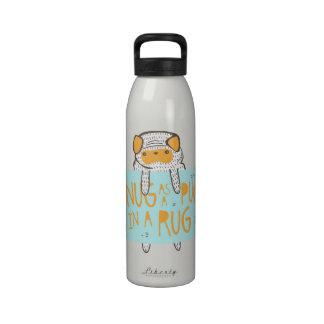 """Snug as a Pug in a Rug"" Drinking Bottle"