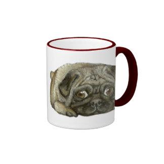 Snug as a pug ringer mug