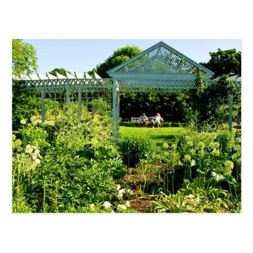 Snug Harbor Botanical Garden In Snug Harbor Postcard Zazzle