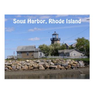 Snug Harbor, Rhode Island Postcards