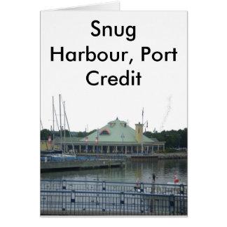 Snug Harbour Card