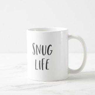 Snug Life Funny Saying Coffee Mug
