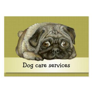 Snug pug business card templates