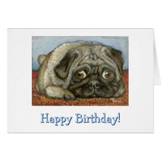 Snug Pug Greeting Cards