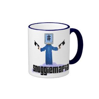 #snuggiemafia ringer coffee mug