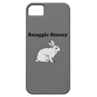 Snuggle Bunny grey iphone 5 case