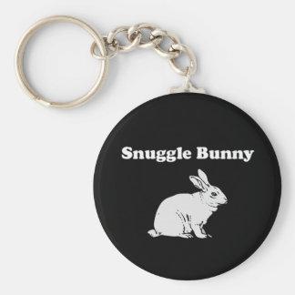 Snuggle Bunny Keychain