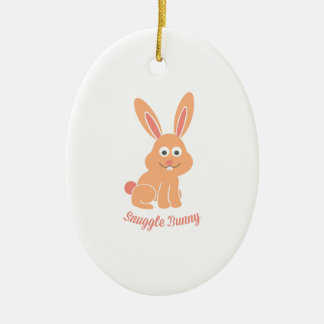 Snuggle Bunny Ornament