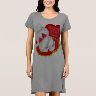 Snuggle Bunny T-Shirt Dress
