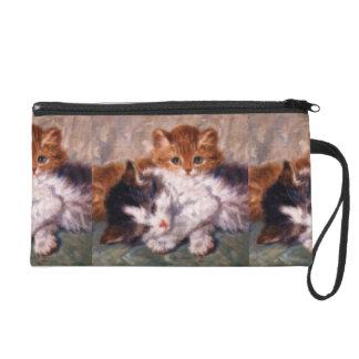 Snuggle de dos gatitos de Henriëtte Ronner-Knip