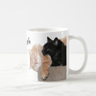 Snuggle kitties coffee mug