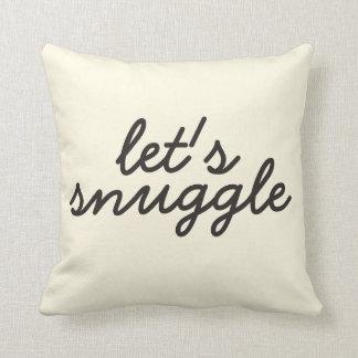 Snuggle la almohada cojín decorativo