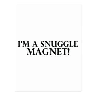 Snuggle Magnet Postcard