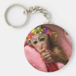 Snuggle Monkey Key Chains