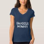 Snuggle Monkey T-shirt