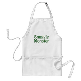 Snuggle Monster Adult Apron
