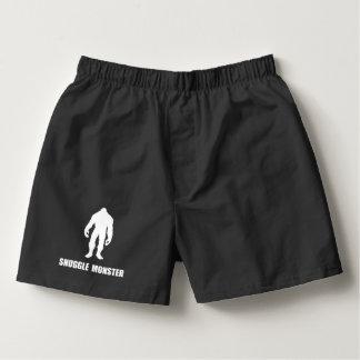 Snuggle Monster Bigfoot Boxers