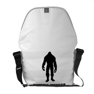 Snuggle Monster Bigfoot Messenger Bag
