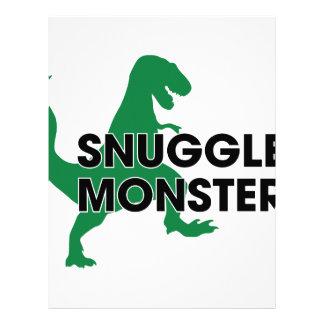 Snuggle Monster Letterhead