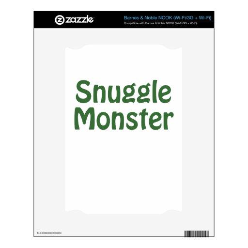 Snuggle Monster NOOK Skins
