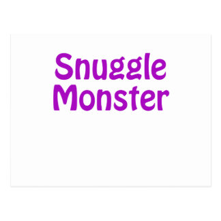 Snuggle Monster Postcard