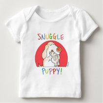 SNUGGLE PUPPY! by Sandra Boynton Baby T-Shirt