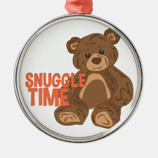 Snuggle Time Metal Ornament