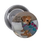 Snuggle w/ur Puggle Button