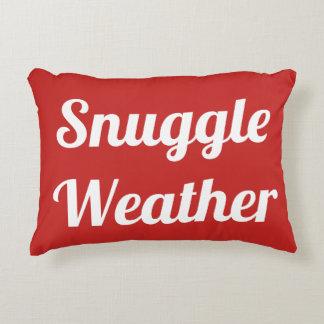 Snuggle Weather Snowflake Pillow