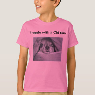 Snuggle with a Chi Time..by Carol Zeock T-Shirt