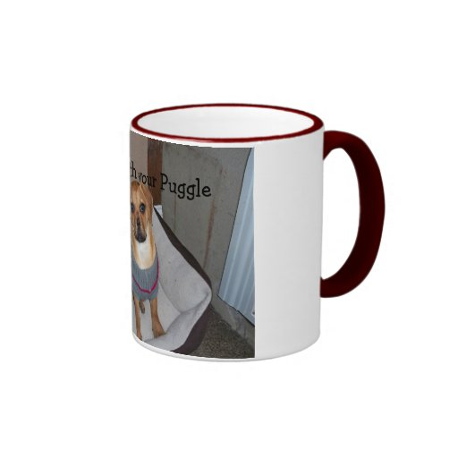 Snuggle with your Puggle Coffee Mugs