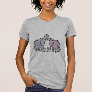 Snuggling Elephants T-Shirt