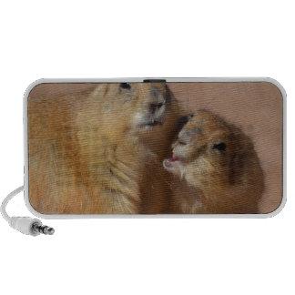 Snuggling Prairie Dogs PC Speakers