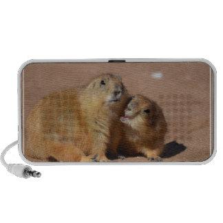 Snuggling Prairie Dogs Notebook Speaker