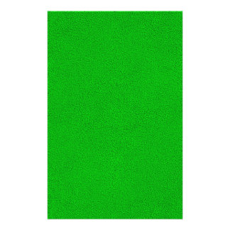 "Snuggly Bright Neon Green Ultrasuede Look 5.5"" X 8.5"" Flyer"