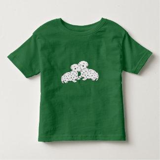 Snuggly Dalmatian Dreams Toddler T-shirt