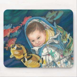Snuggly Dreams Mouse Pad