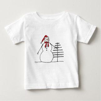 snwmntreecolor tee shirt