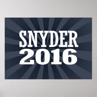 SNYDER 2016 POSTER