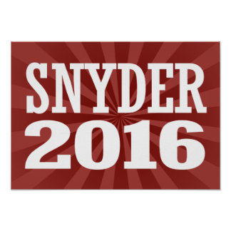 SNYDER 2016 POSTERS