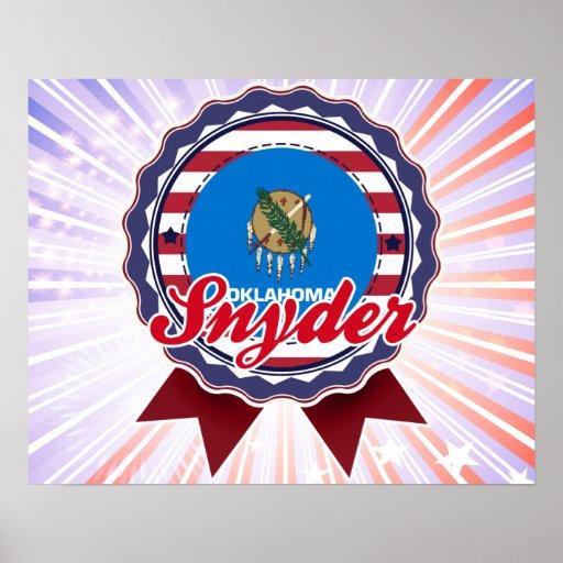 Snyder, AUTORIZACIÓN Poster