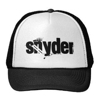 snyder trucker hat