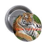 Snyder HS Tiger Button